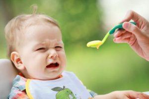 Ошибки пр первом прикорме ребенка