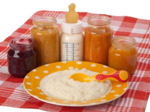 Прикорм для ребёнка