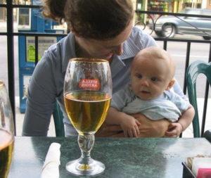 Пиво при ГВ
