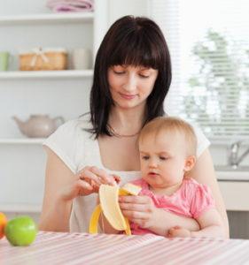 Бананы кормящей мамочке