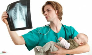 Рентген грудничку